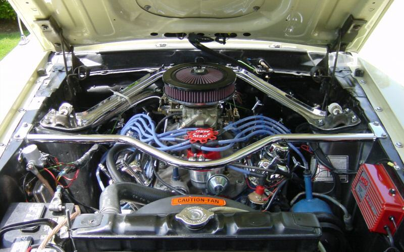 Modified H-code 351ci V8 Engine