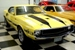 Bright Yellow 1970 Mustang Shelby GT500 Fastback