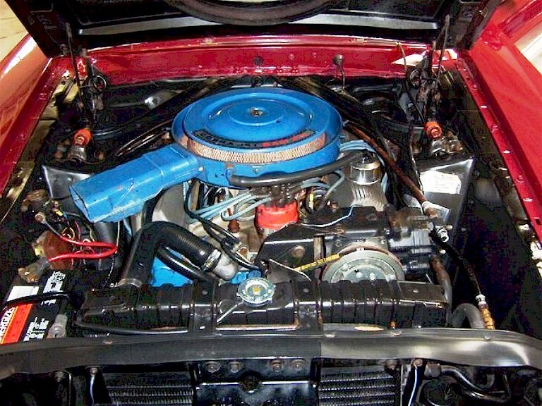 1970 Shelby R-code V8 Cobra Jet Engine
