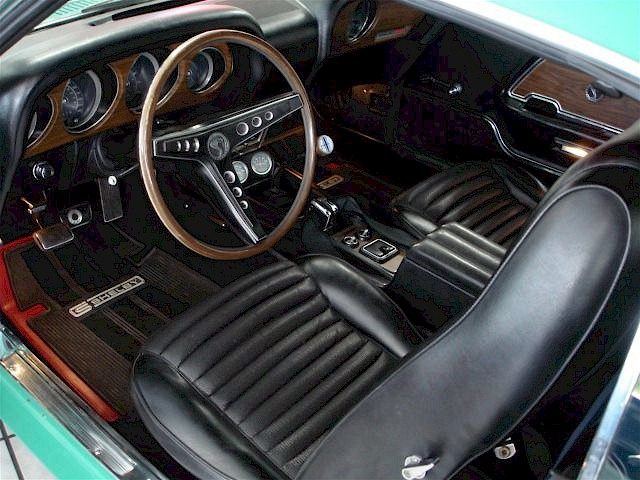 1970 Shelby GT-500 Interior