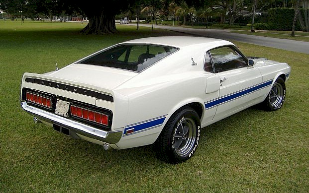 Pastel Gray 1970 Ford Mustang Shelby Gt 350 Fastback Mustangatude Photo Detail