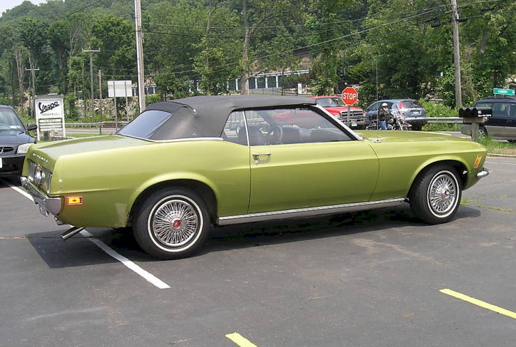 1970 Ford Mustang Lime Green