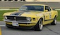 Competition Yellow 1970 Mustang Boss 302 Fastback Race Repica