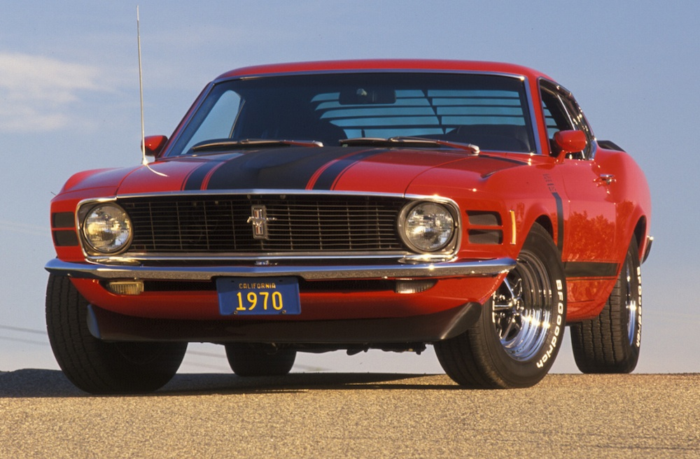 Red 1970 Boss 302 Ford Mustang Fastback - MustangAttitude ...
