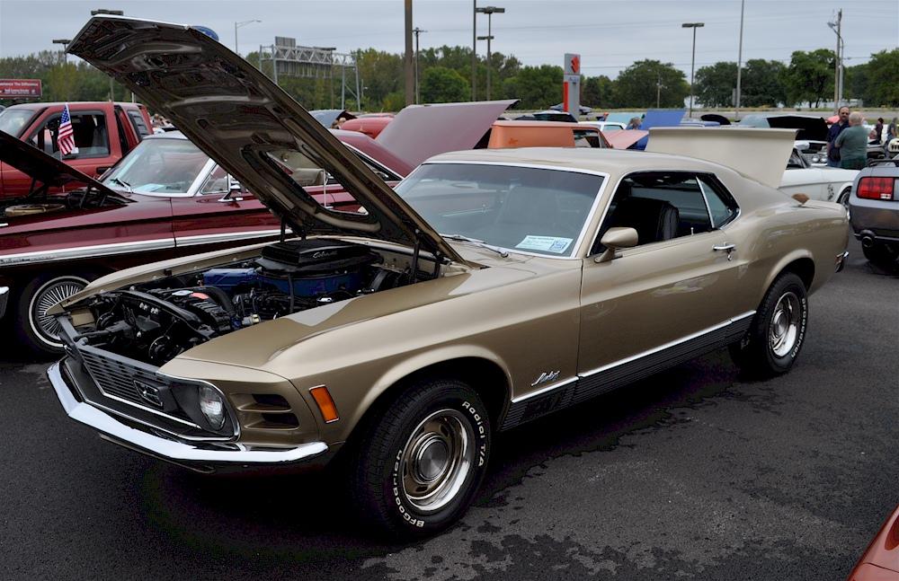 Medium gold 1970 mach 1 ford mustang hardtop mustangattitude com photo detail