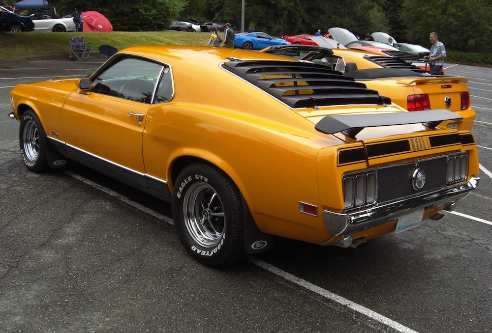 1970 Mach 1 Mustang Grabber Orange