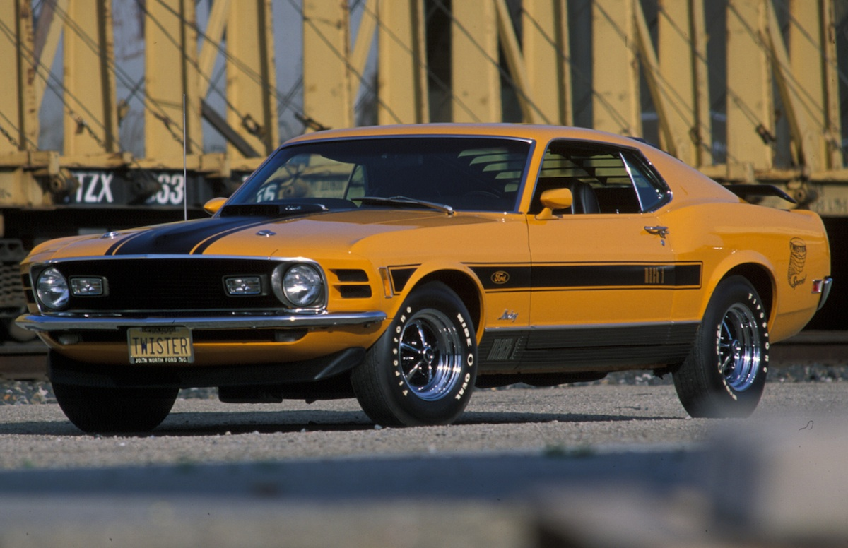 1970 Grabber Orange Twister Mach 1 Mustang