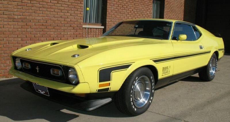 1971 Mustang Hood Gallery