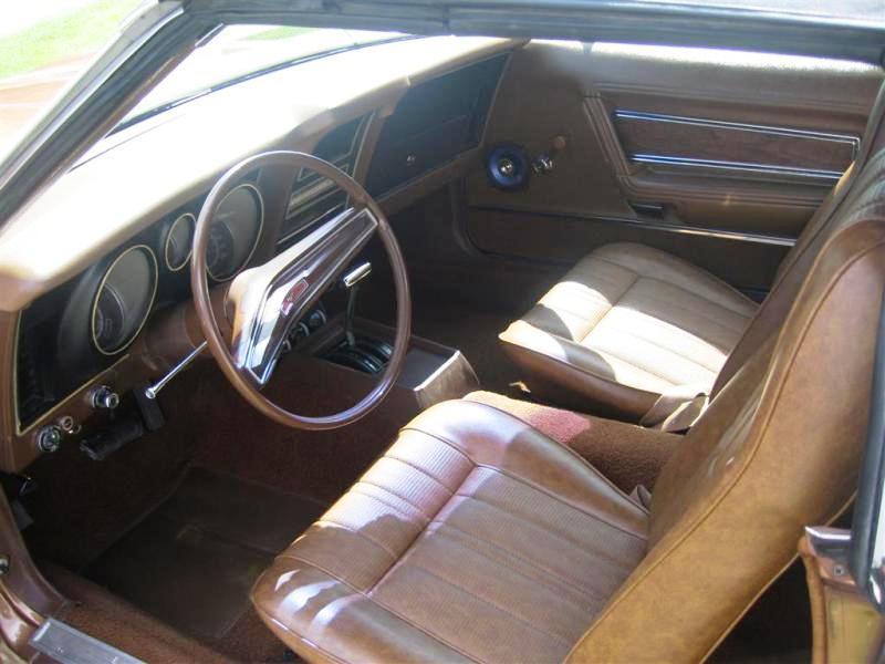 Medium Brown 1971 Ford Mustang Convertible