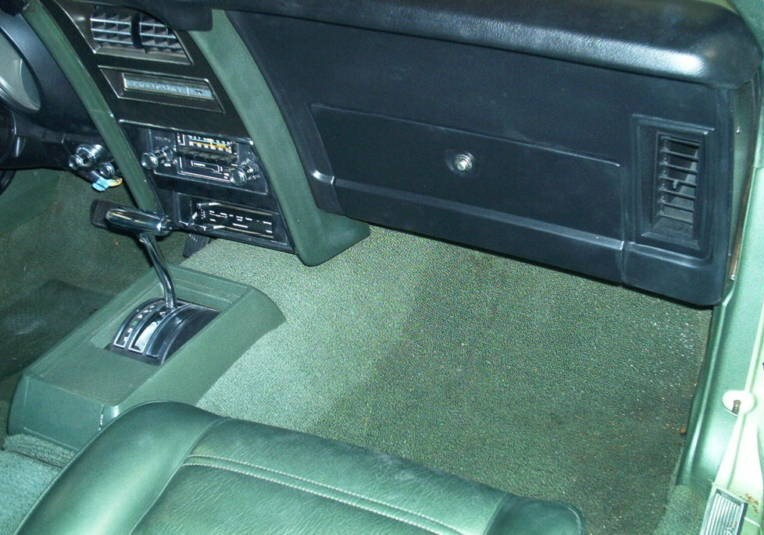 Front Seat 1971 Mustang Hardtop
