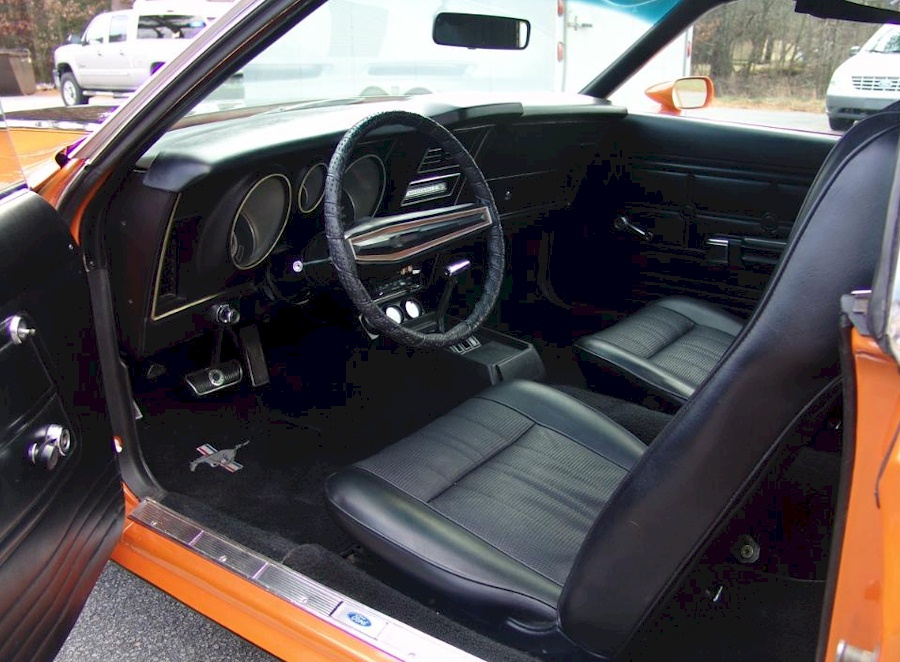 1971 Mustang Interior