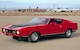 Bright Red 1971 Mustang Mach 1