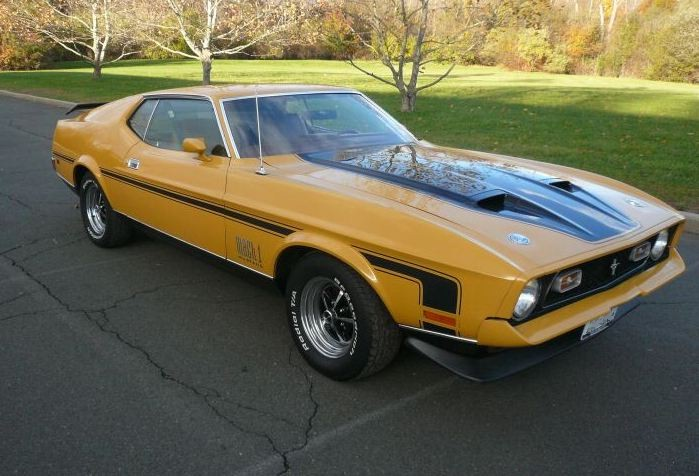 Medium Yellow Gold 1972 Mach 1