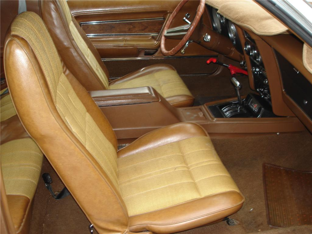 Ginger interior 1972 mustang grande hardtop