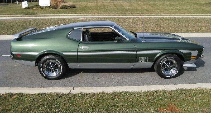 1972 Mustang Mach 1 Fastback