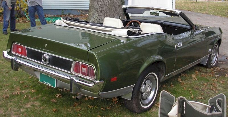 Ivy Glow green 1973 Convertible