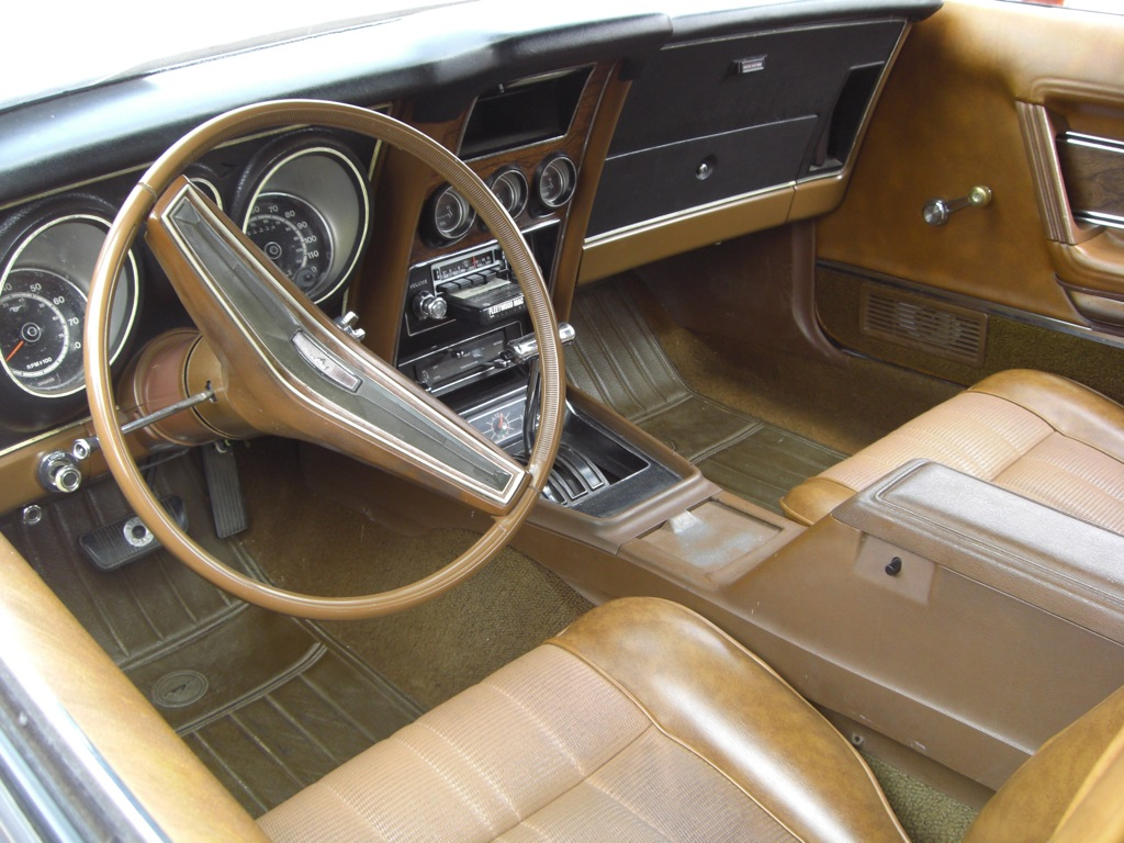 medium copper 1973 ford mustang fastback photo detail