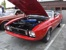 Bright Red 1973 Mustang Convertible