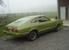 Bright Green Gold 1974 Mustang II Hatchback