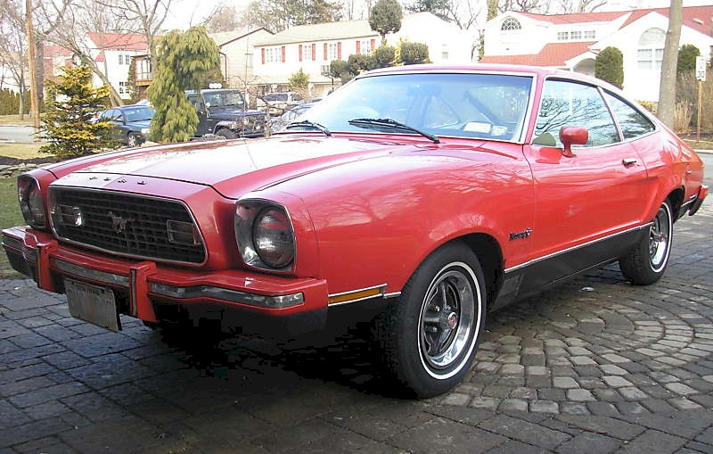 Bright Red 1974 Mustang Ii Mach 1