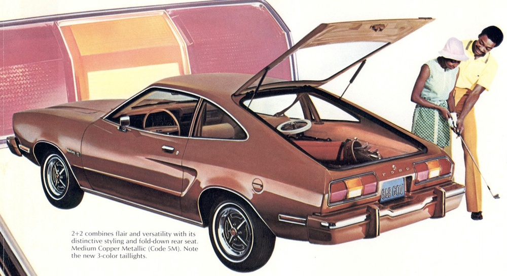 Medium Copper 1974 Mustang II Hatchback