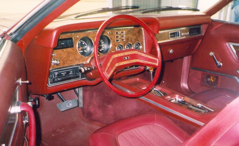 Dark Red 1975 Ford Mustang Ii Coupe Mustangattitude Com