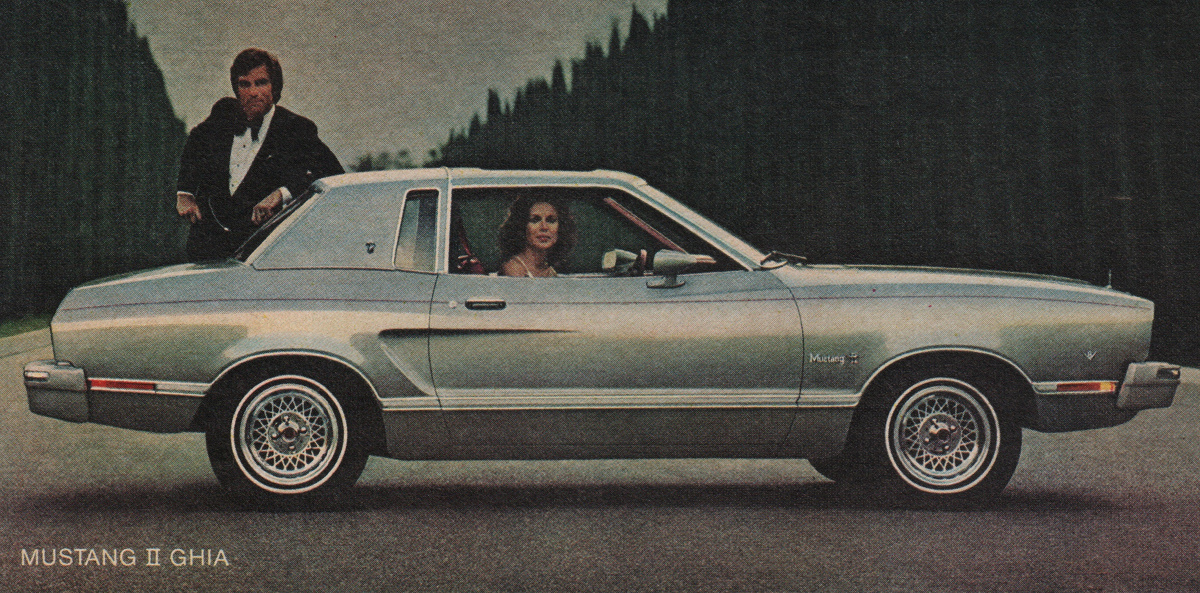 1975 Special Silver Ghia Mustang II