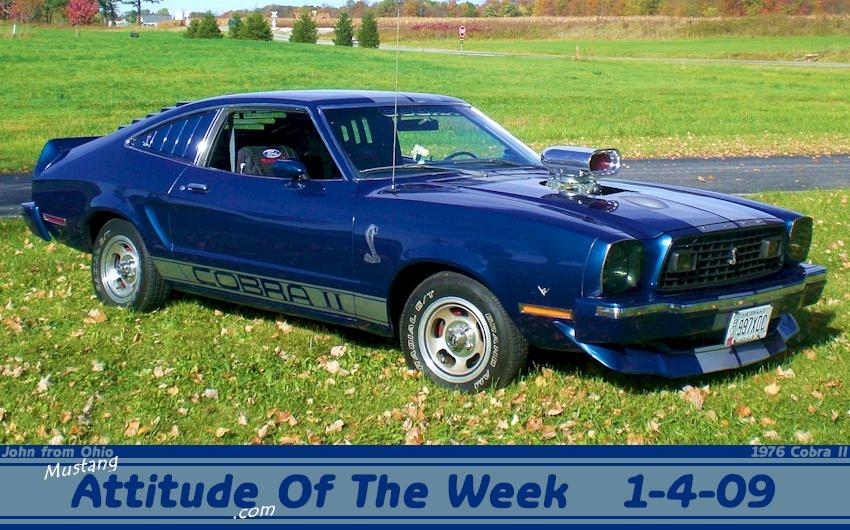blue 1976 ford mustang cobra ii hatchback. Black Bedroom Furniture Sets. Home Design Ideas