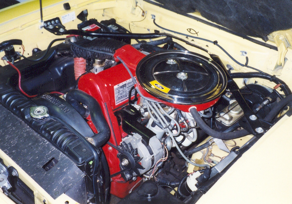 1976 Mustang 2.3L Engine