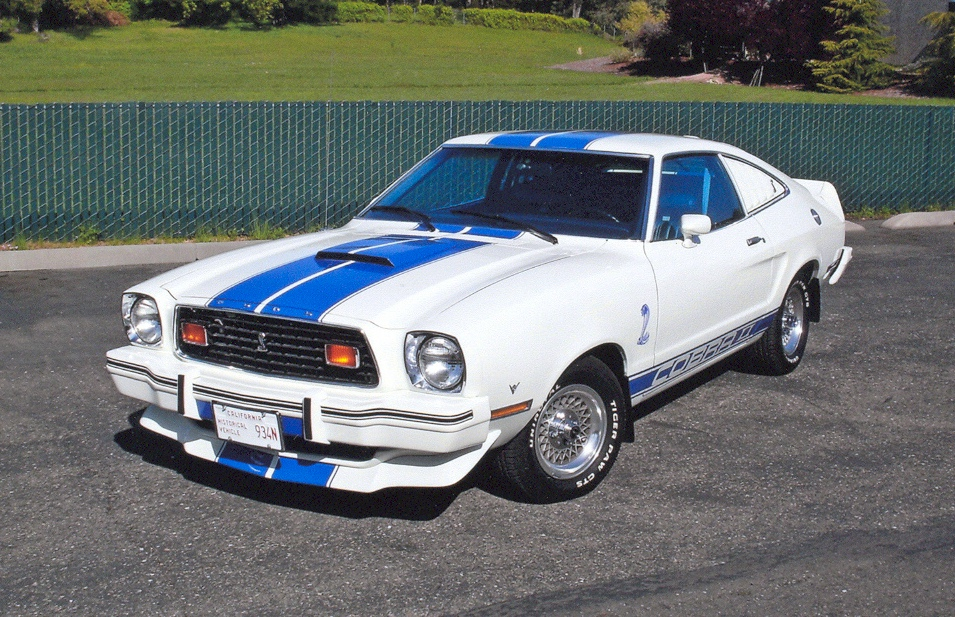 white 1976 ford mustang cobra ii hatchback. Black Bedroom Furniture Sets. Home Design Ideas