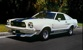 White 76 Mustang II Cobra Hatchback