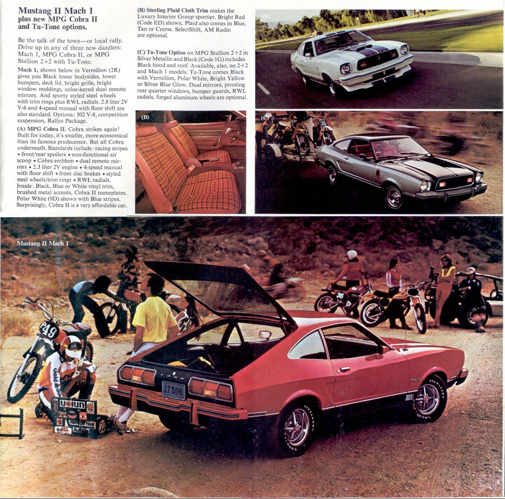 1976 Ford Mustang Promotional Catalog