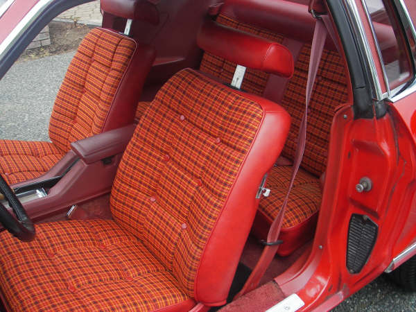 1977 Mustang Front Seats