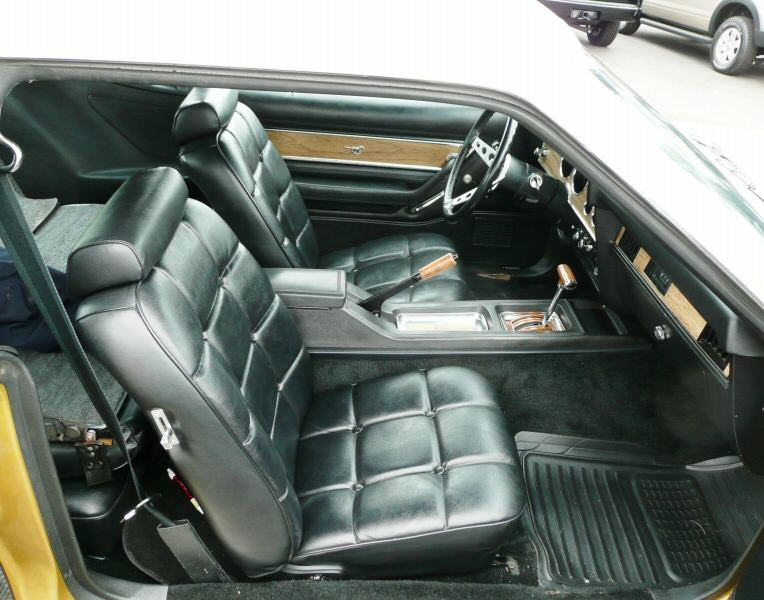 Interior 1977 Mustang with GHIA package
