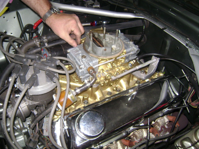 1977 Mach-1 Engine