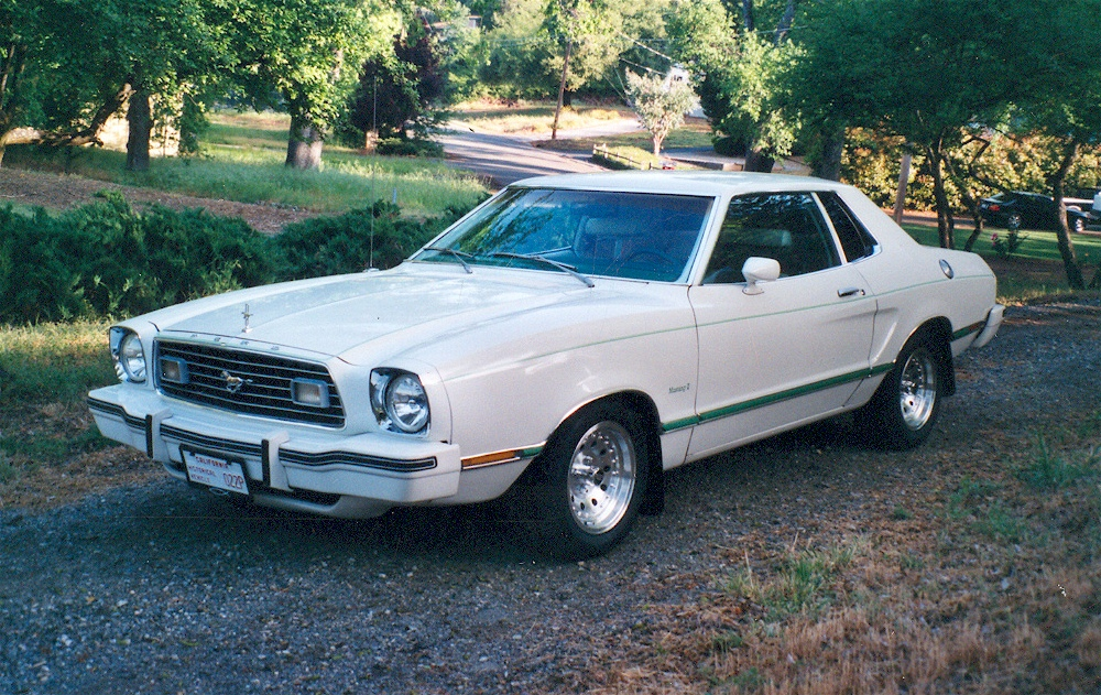 1977 Mustang Paint Colors