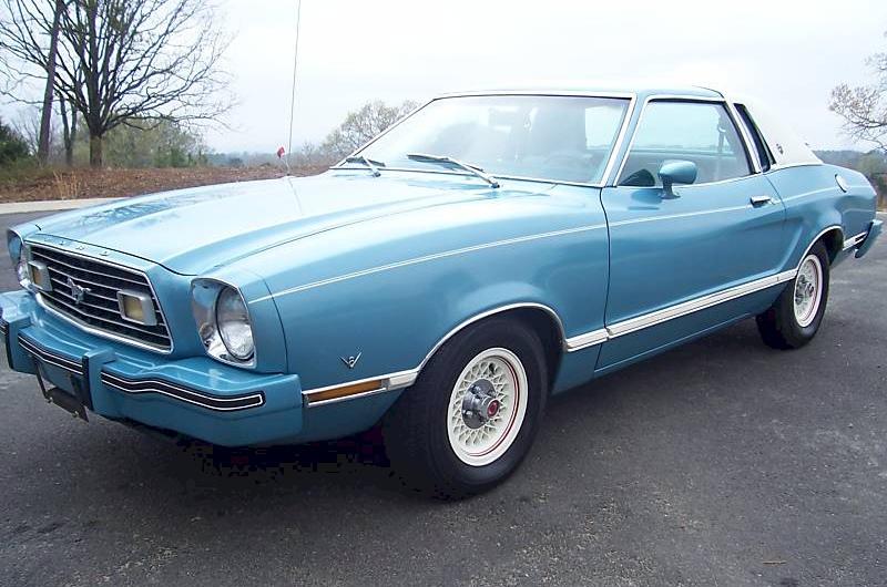 1977 Mustang Ghia