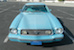 Front Light Aqua 1977 Mustang II Coupe
