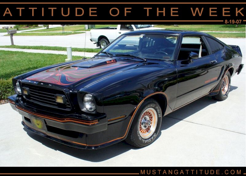 Black 1978 Ford Mustang II King Cobra Hatchback ...