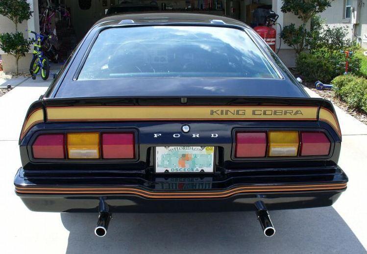 1978 Mustang King Cobra Rear Spoiler