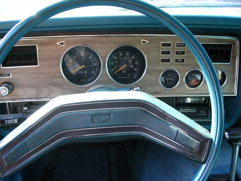 Dash 1978 Mustang Coupe