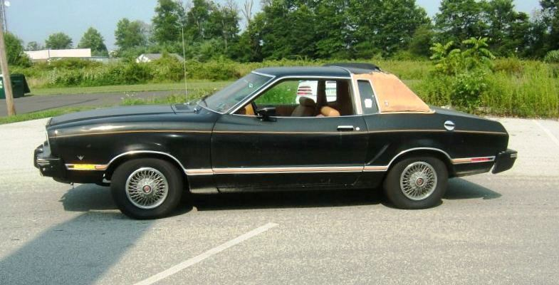 1978 ford mustang 2 ghia coupe. Black Bedroom Furniture Sets. Home Design Ideas