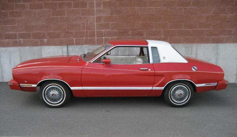 1978 Mustang Ghia For Sale