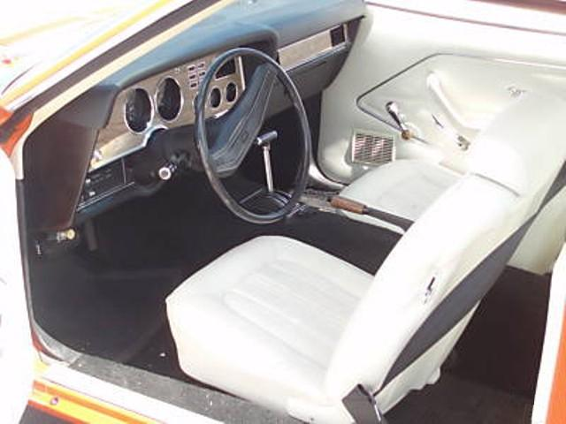 White Interior 78 Mustang II Coupe