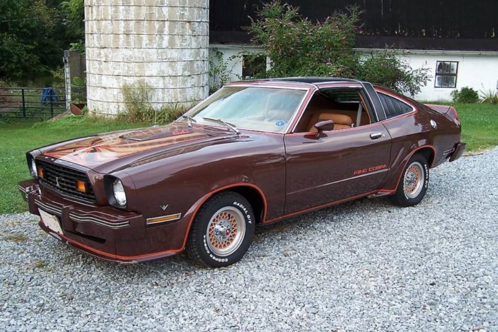 dark brown 1978 ford mustang ii king cobra hatchback photo detail. Black Bedroom Furniture Sets. Home Design Ideas