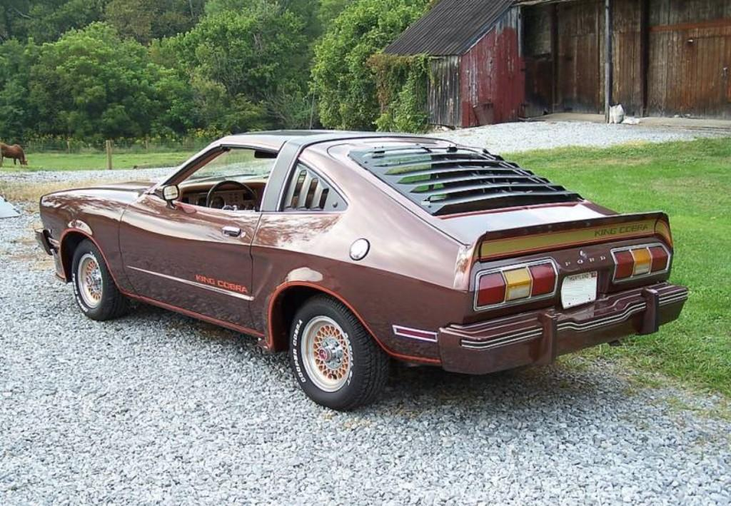 Dark Brown 1978 Ford Mustang II King Cobra Hatchback ...