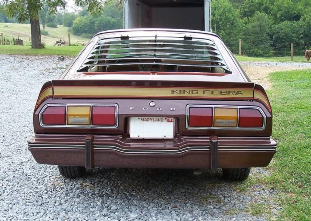 1978 Mustang 2 King Cobra For Sale