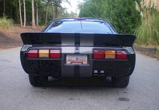 Black 1978 Ford Mustang Ii Monroe Handler Hatchback Mustangattitude Com Photo Detail