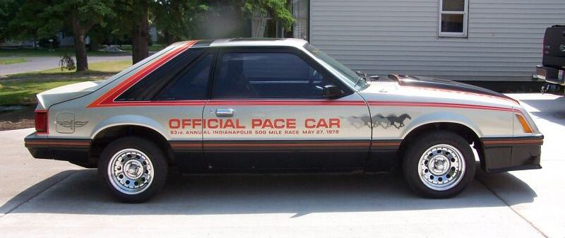1979 mustang pace car for sale	  Pewter 1979 Ford Mustang Indianapolis Pace Car Hatchback ...