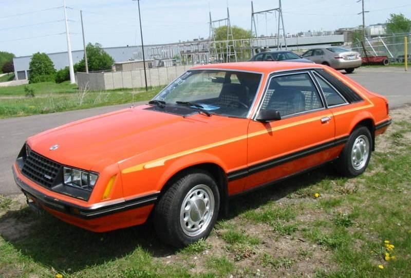 1979 Mustang Paint Colors